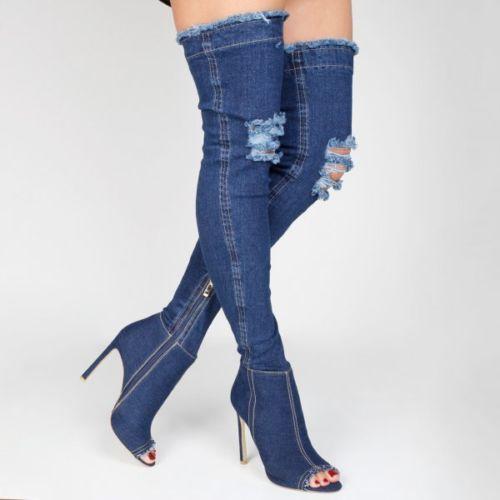 Stivali jeans estivi