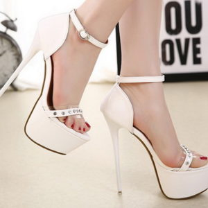Sandali bianchi Layla
